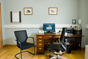 Consulting Room at The McAndrew Practice